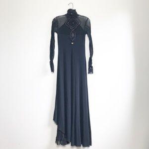 VINTAGE • maxi dress